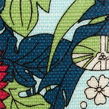 Handbags and Wallets: Seafoam Flower Power Sakroots Artist Circle XL Wallet