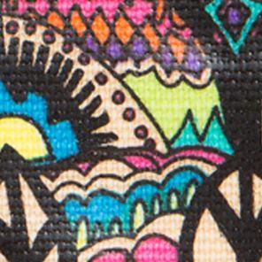 Handbags and Wallets: Radiant One World Sakroots Artist Circle XL Wallet