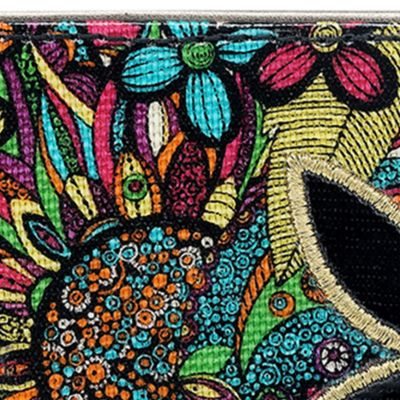 Handbags and Wallets: Rainbow Spirit Desert Sakroots Artist Circle Slim Wallet