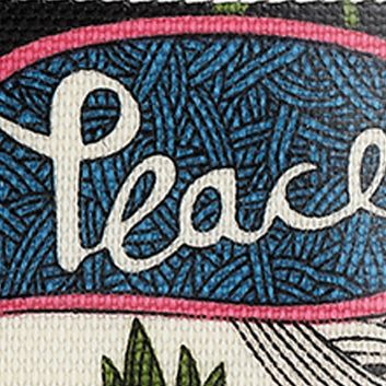 Handbags and Wallets: White Peace Sakroots Artist Circle Large Smartphone Crossbody