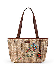 Sakroots Artist Circle Straw Small Satchel