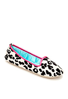 Kensie by Age Group Tan Leopard Smoking Slipper