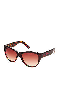 Betsey Johnson Large Sculpted Cateye Sunglasses