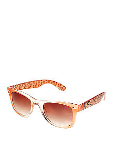 Betsey Johnson Wayfarer Sunglasses