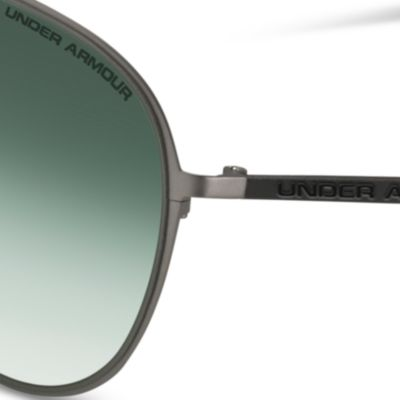 Mens Sunglasses: Gunmetal Under Armour Alloy TD Sunglasses