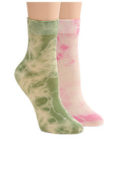 Hot Sox Tie Dye Openwork Socks