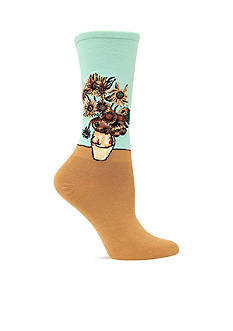 Hot Sox Sunflower Trouser Sock