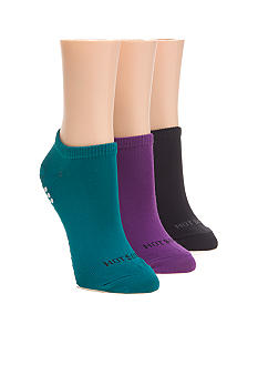 Hot Sox Non Skid Fitness Ped Sock - 3 Pack