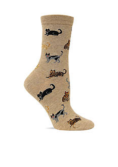 Hot Sox Classic Cats Trouser Sock