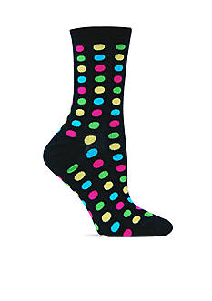 Hot Sox Fun Dot Trouser Sock