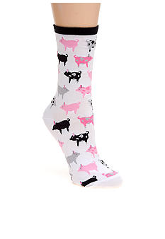 Hot Sox Pigs Trouser Sock