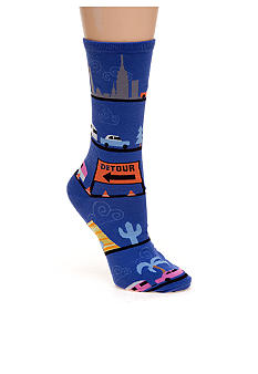 Hot Sox Retro Roadtrip Trouser Sock