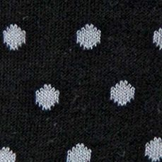 Hot Sox Handbags & Accessories Sale: Black Hot Sox Small Polka Dot Crew Socks