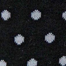 Handbags & Accessories: Socks Sale: Black Hot Sox Small Polka Dot Crew Socks