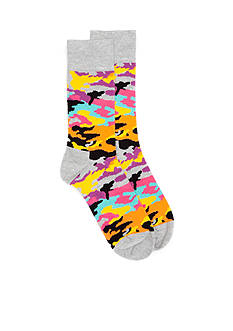 Happy Socks Bark Crew Socks - Single Pair