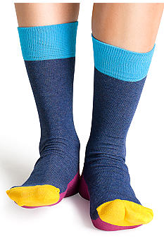 Happy Socks Five Colour Crew Sock