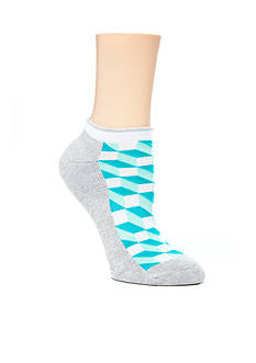 Happy Socks Mesh Optic Low Cut Socks - Single Pair