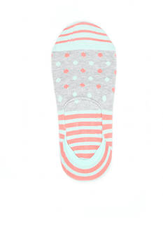 Happy Socks Stripe and Dot Liner Socks - Single Pair
