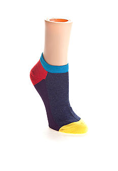 Happy Socks Color Block Low Cut Sock