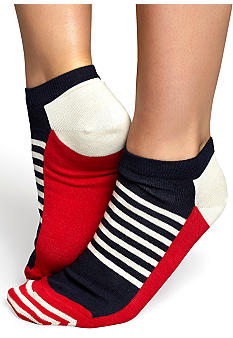 Happy Socks Stripe Half Low Sock
