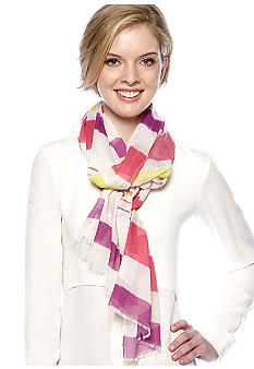 Vince Camuto Multi Color Stripe Scarf