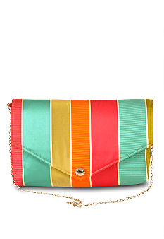 Baxter Designs Stripe Clutch