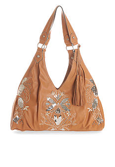 Gemini Rising Four Poster Bag with Sequins