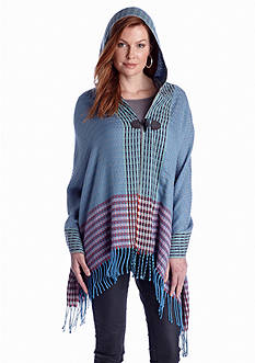 BCBGeneration Drop Weave Hooded Wrap