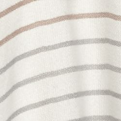 BCBG Accessories: Antic Grey BCBGeneration Stripes Out Hooded Wrap