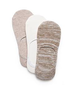 New Directions Boot Liner Non-Slip Socks - 3 Pack