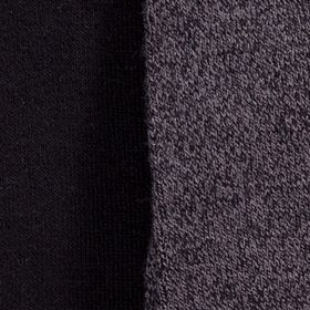 Kim Rogers Clothing Accessories: Grey/Black Twist Kim Rogers Bamboo Knee High Two Pair Pack of Socks