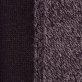 Handbags & Accessories: Socks Sale: Grey Twist New Directions Solid Flat Knit 2 Pack of Socks
