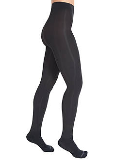 Bootights by Shelby Mason Chelan Shaper Super Opaque Tights with Attached Ankle Sock - Online Only
