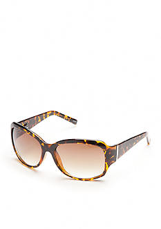 New Directions Square Tortoise Sunglasses