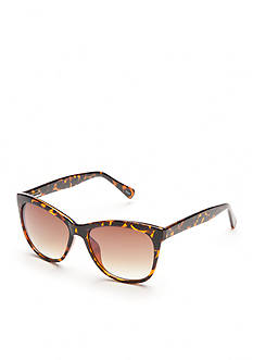 New Directions Cat Tortoise Sunglasses