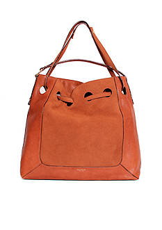 Isaac Mizrahi New York Patsy Large Drawstring Hobo