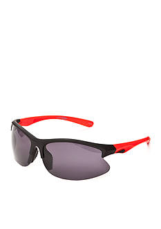 Athlix Plastic Sports Wrap Sunglasses