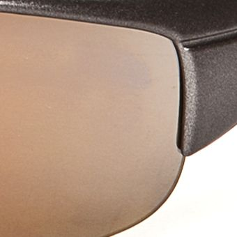Handbags & Accessories: Wraparound Sale: Grey/Yellow Athlix Mirror Sports Wrap Sunglasses