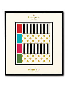 kate spade new york® Eraser Set