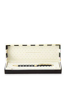 kate spade new york Black Dots Ballpoint Pen