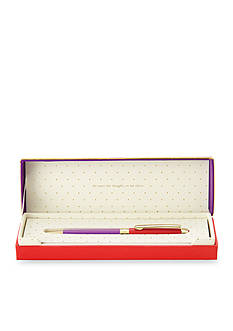 kate spade new york Red and Purple Thoughts on Her Ballpoint Pen
