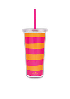 kate spade new york® Pink and Orange Insulated Tumbler