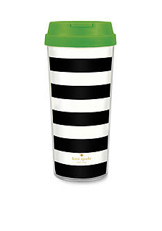 kate spade new york® Black And White Thermal Mug
