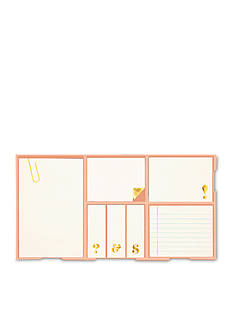 kate spade new york® Gold Sticky Note Set