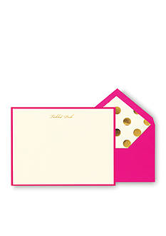 kate spade new york Tickled Pink Correspondence Cards
