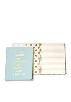 kate spade new york Quick & Curious Concealed Spiral Notebook