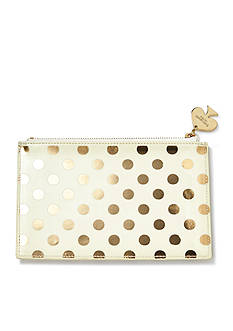 kate spade new york Gold Dots Pencil Pouch