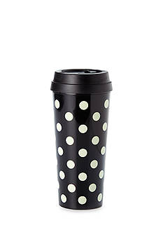 kate spade new york Black Deco Dots Thermal Mug, 16 oz.