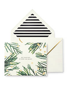 kate spade new york Merry and Bright Holiday Cards