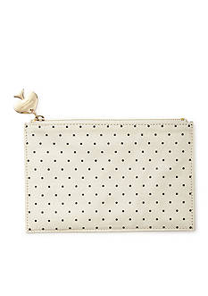 kate spade new york Polka Dot Pencil Pouch With Bridge Pencils